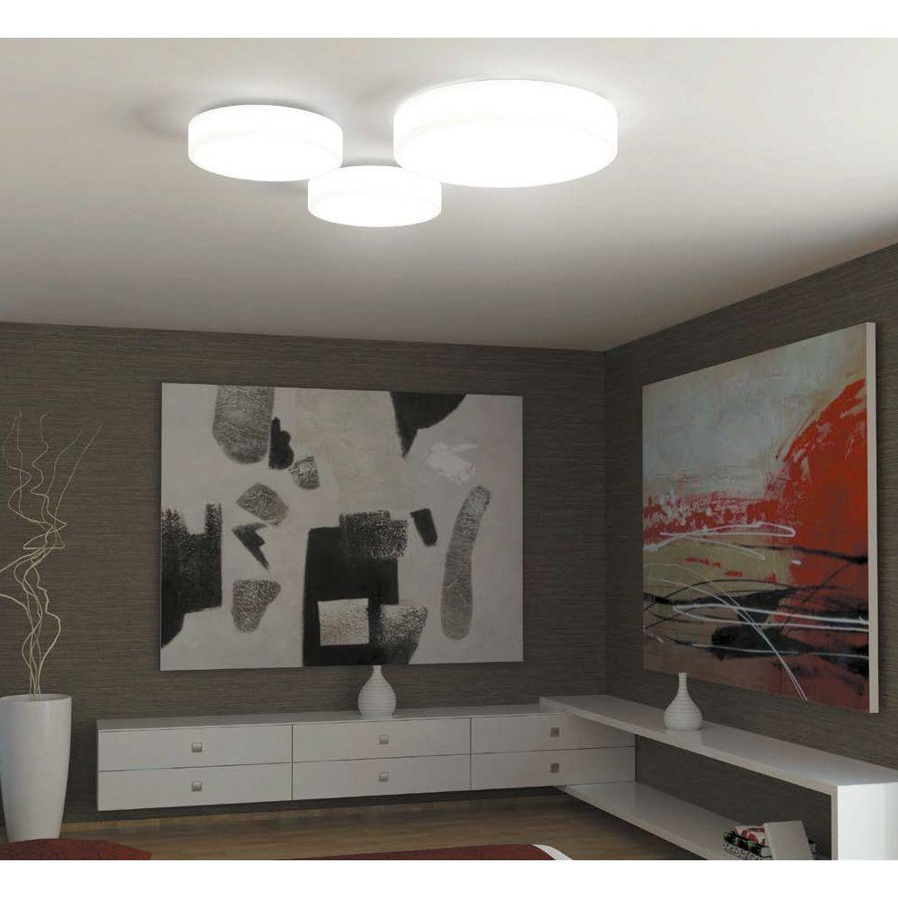 freitragende decke lampen detail