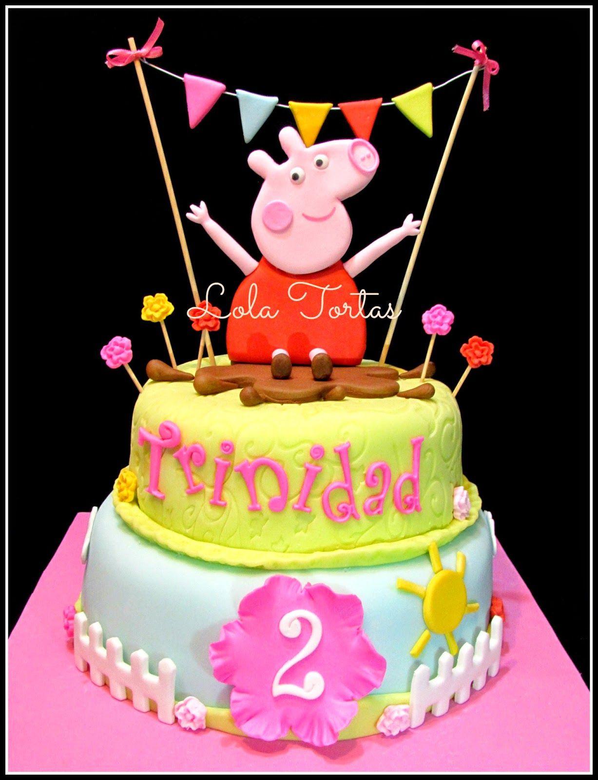 Peppa Pig Bedroom Decor Peppa Pig Cake Peppa La Cerdita Https Wwwfacebookcom