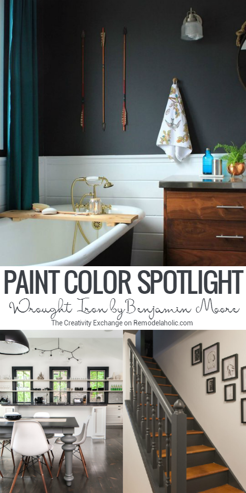 If You Ve Been Searching For The Perfect Black Paint Color Benjamin Moore Wrought Iron Is The Wrought Iron Paint Benjamin Moore Wrought Iron Black Paint Color