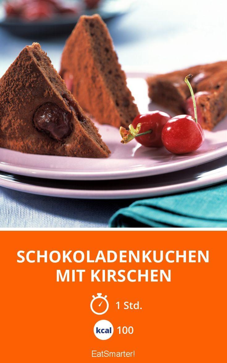 schokoladenkuchen mit kirschen rezept bake love in. Black Bedroom Furniture Sets. Home Design Ideas