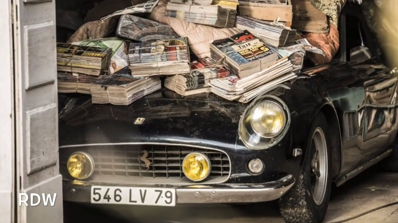 Stuff Found In Old Barns Barn Find Sixty Abandoned Rare Clic Cars French