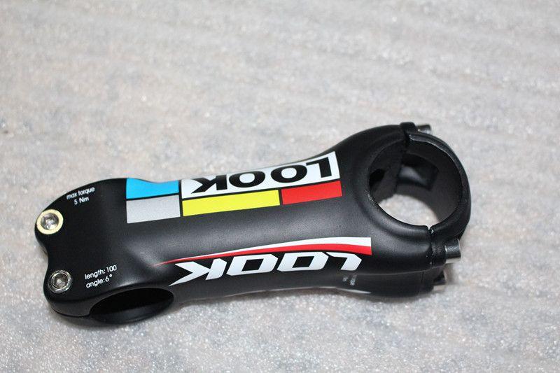 EC90 Carbon Bike Stem Lightweight Aluminum+Carbon Fiber Riser Rod Stem Road Bicycle Stem MTB Handlebar Stems 28.6-31.8MM 6degrees