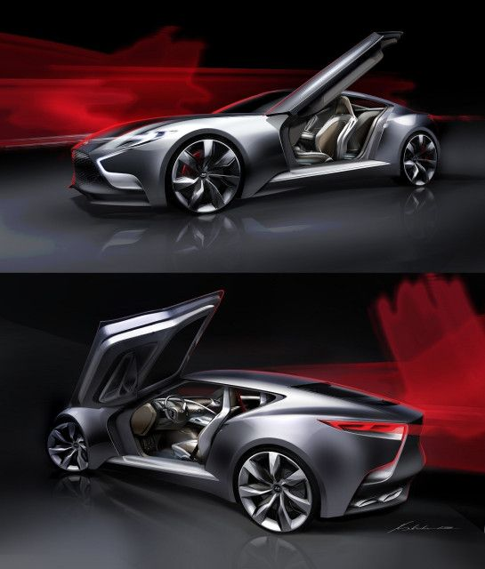 New Hyundai Luxury Sports Coupe Concept HND-9
