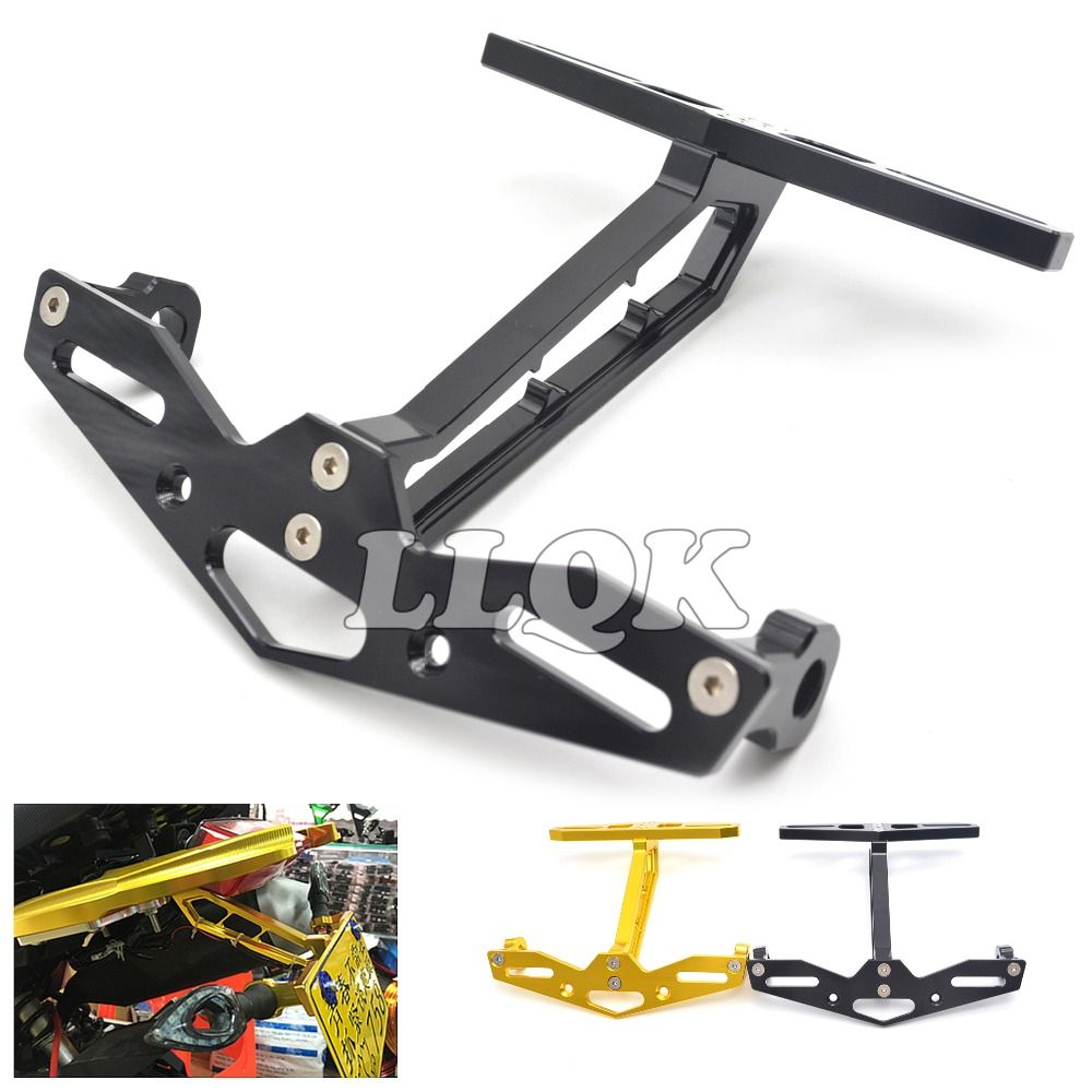 Motorcycle license plate frame Number Plate Holder Mount Bracket ...