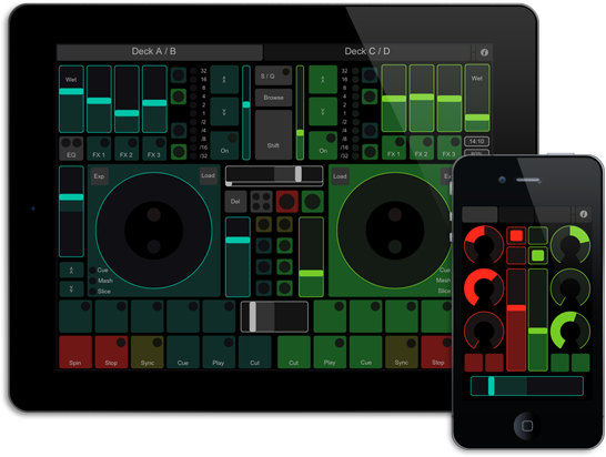 TouchOSC DAW control software. Indispensable if playing and recording at the same time.