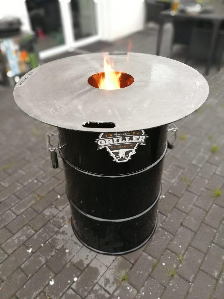 DIY Bauanleitung: Bauen einer Feuertonne mit Feuerplatte ⋆ Feuerplatte.de