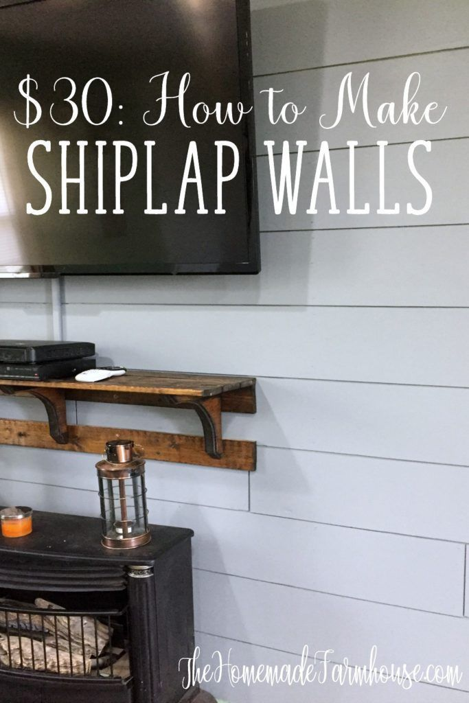 How to Shiplap Walls is part of  - Shiplap walls are the perfect way to add character to your home  With its popularity rising, shiplap walls can fit any style!