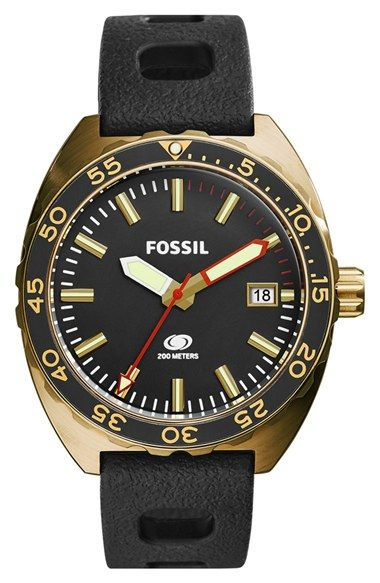 Fossil 'Breaker' Watch, 45mm