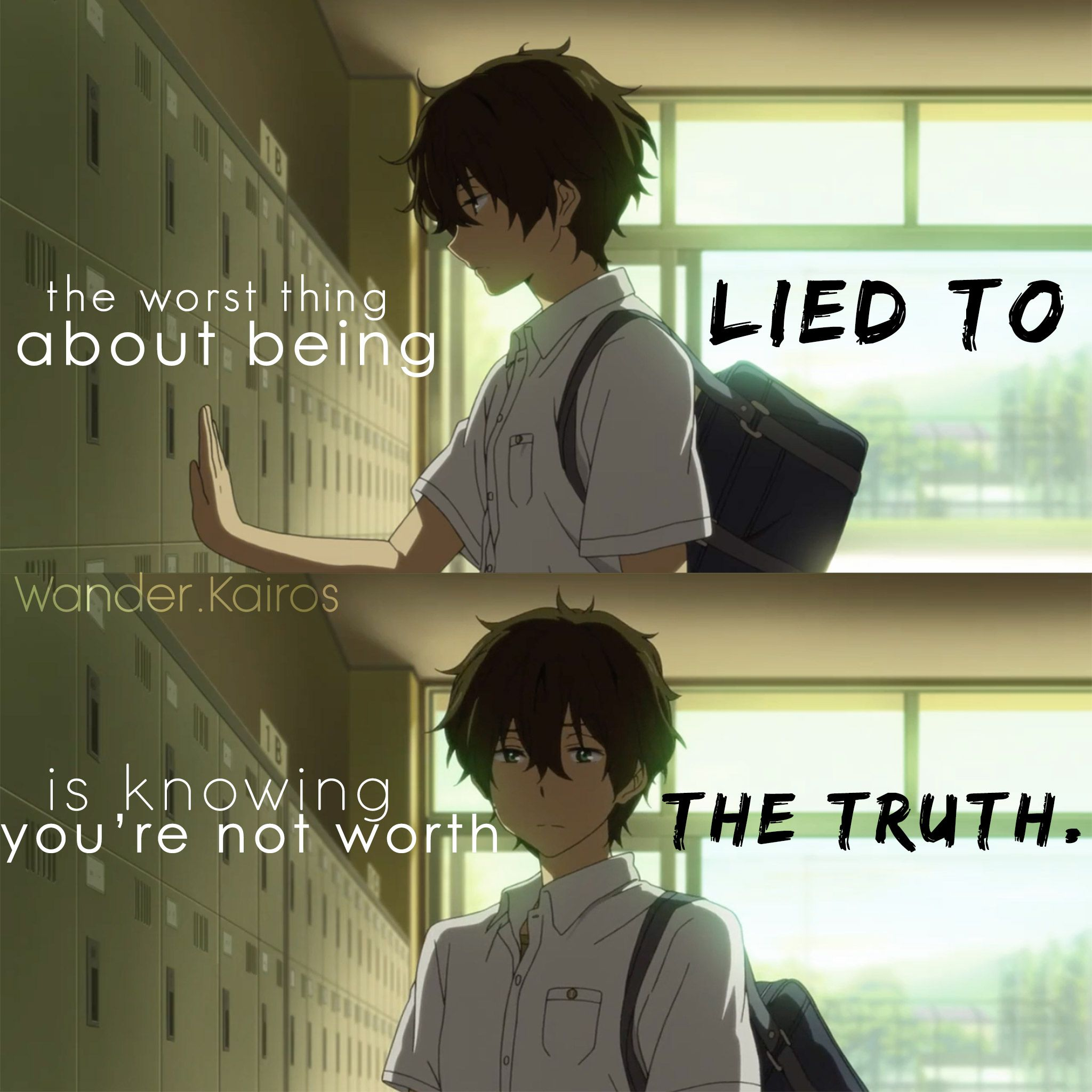 Best Anime Quotes On Life: 引用符/引用 (アニメ)