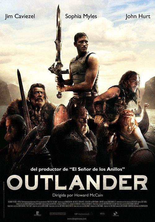 Outlander 2008 Dual Audio Hindi Dubbed Brrip 480p 300mb Outlander Carteles De Peliculas Cine Epico