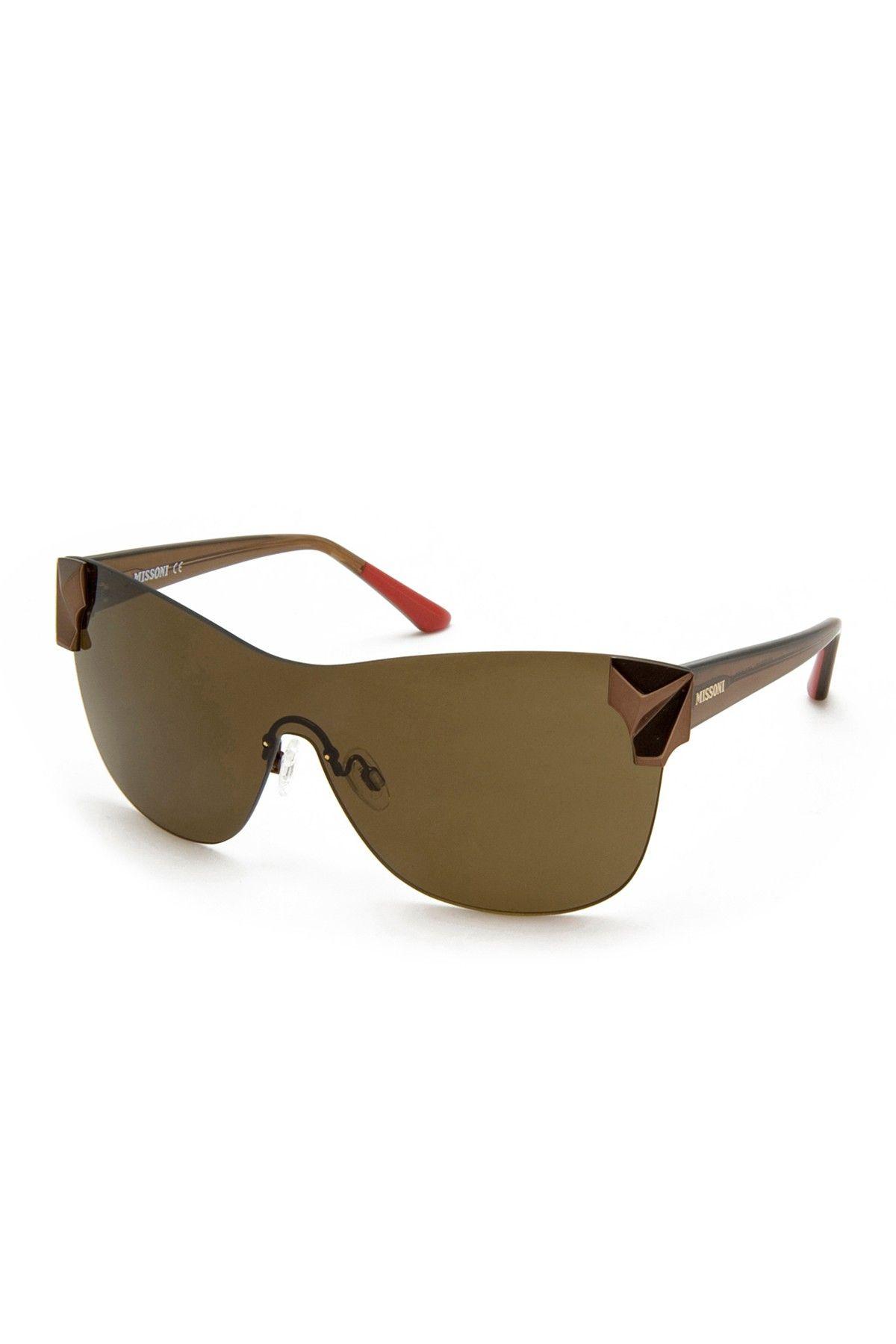 Missoni Women\'s Navigator Metal Frame Sunglasses   Hair & Makeup ...
