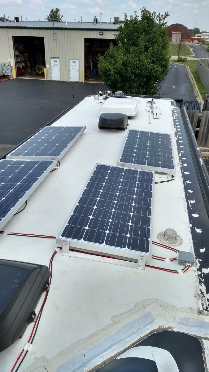 We Rvers All Dream Of Unlimited Power Power To Boondock Anywhere To Live Far From The Nearest Extension Cord Our Motorhome C Rv Solar Solar Rv Solar Power