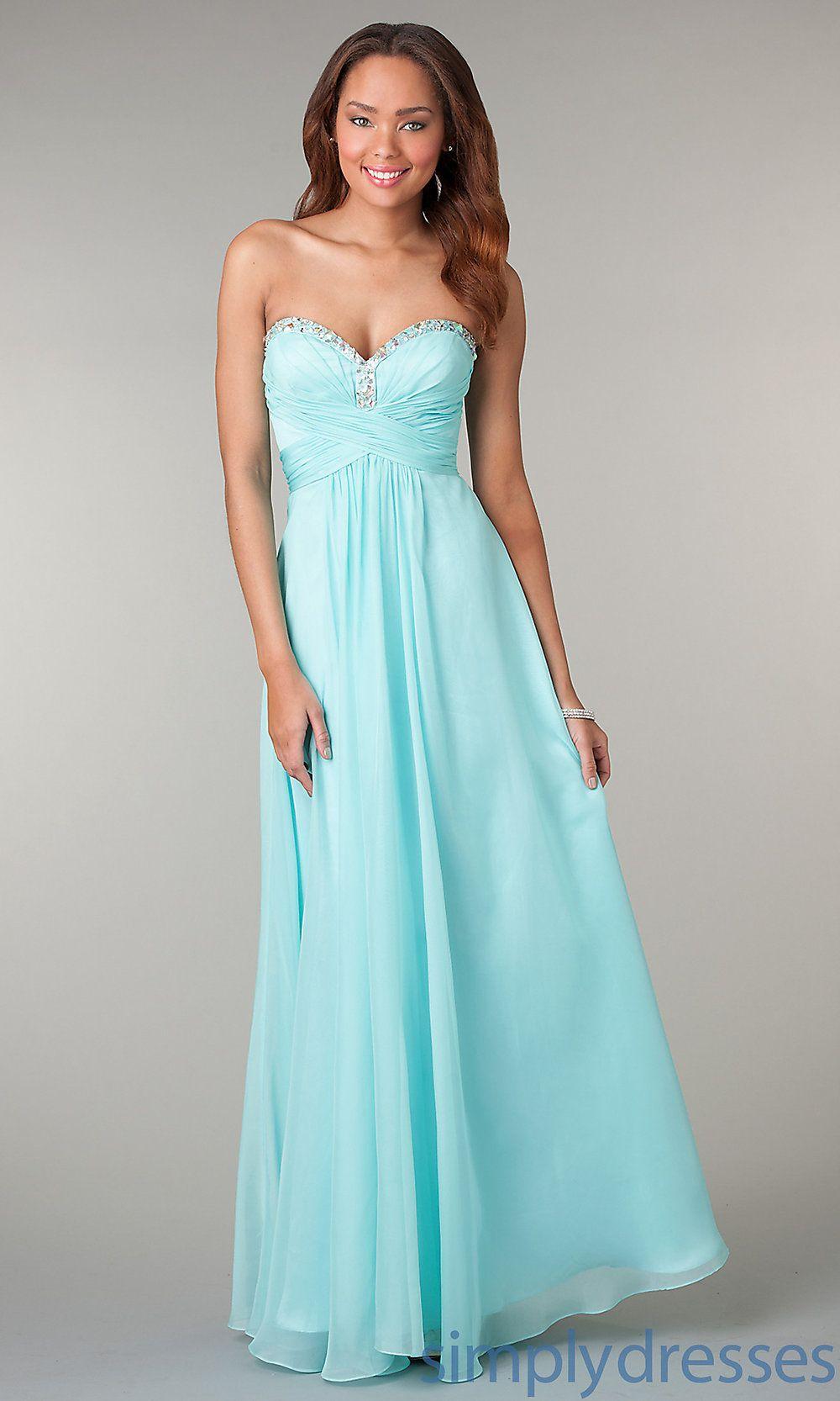 Long Mint Strapless Prom Dress Bridesmaid Dresses Strapless Prom Dresses Long Mint Prom Dress [ 1666 x 1000 Pixel ]
