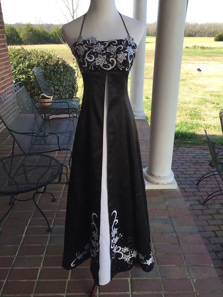 Niki Livas Used Prom Formal Dress Black Size 2 in Clothing, Shoes ...