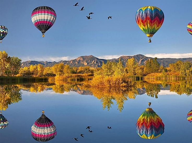 41 Free Fall Wallpapers and Backgrounds: Hot Air Balloons by eWallpapers