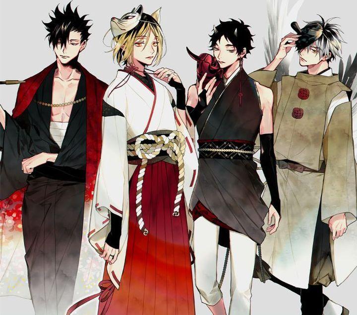 Las mejores versiones de Haikyuu! 🏐🏐🏐 - Kimono Haikyuu!!! 2/3 👘👘👘