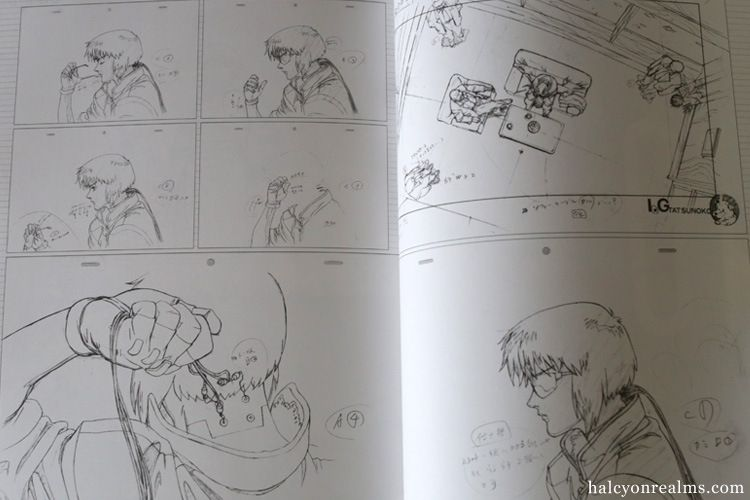 Ghost in the shell genga collection art book review