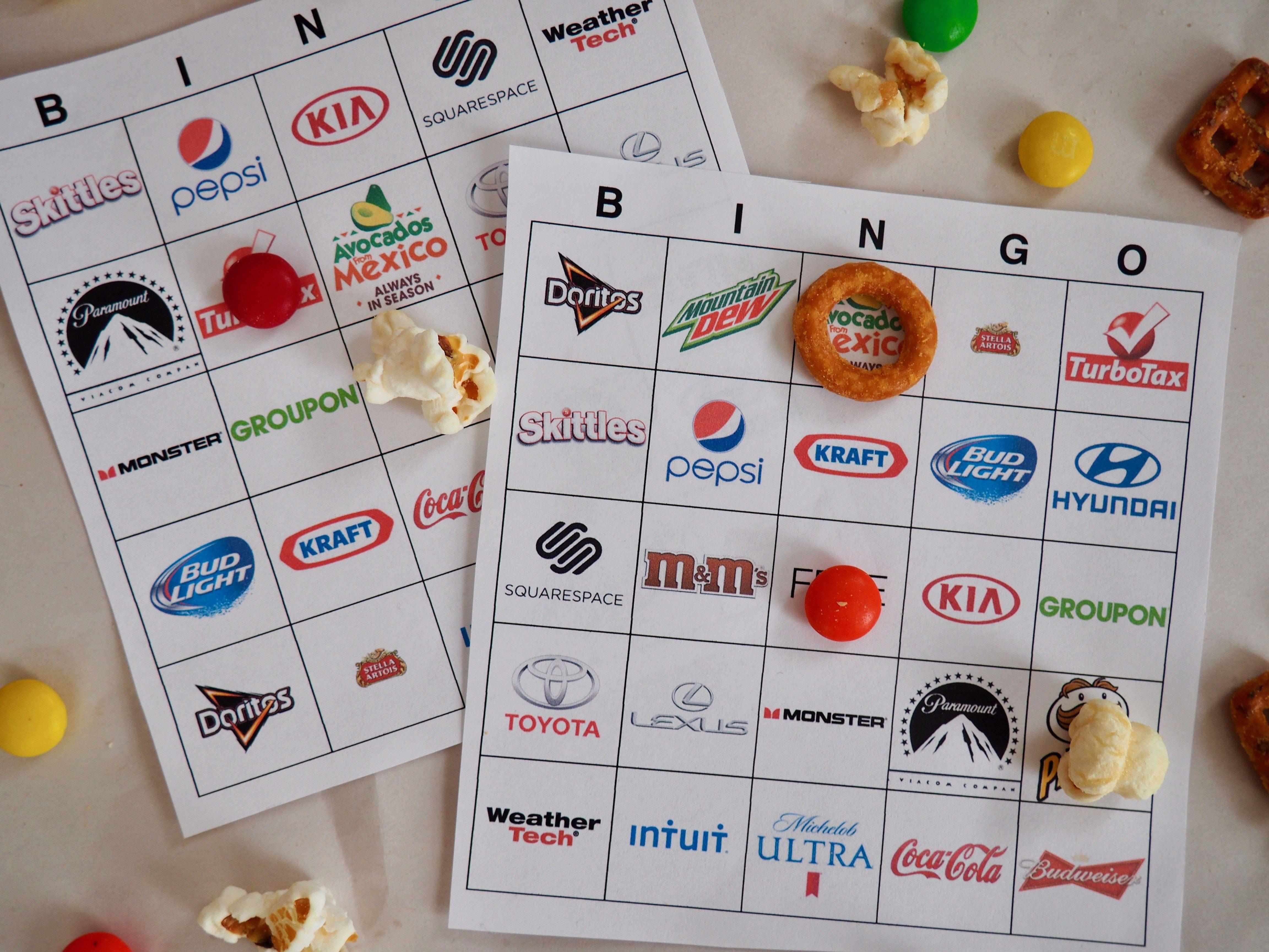 free printable super bowl bingo for 2018 super party rh ar pinterest com