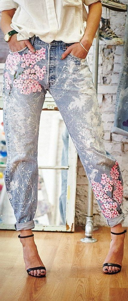 customiser un jean bricolage et loisirs cr ativit pinterest jeans v tements et customisation. Black Bedroom Furniture Sets. Home Design Ideas