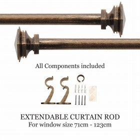 Buy Curtain Rods Amp Brackets Online At Low Prices In India