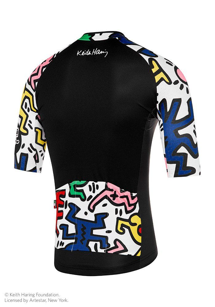 Attaquer x Keith Haring Jersey Black White  576882a41