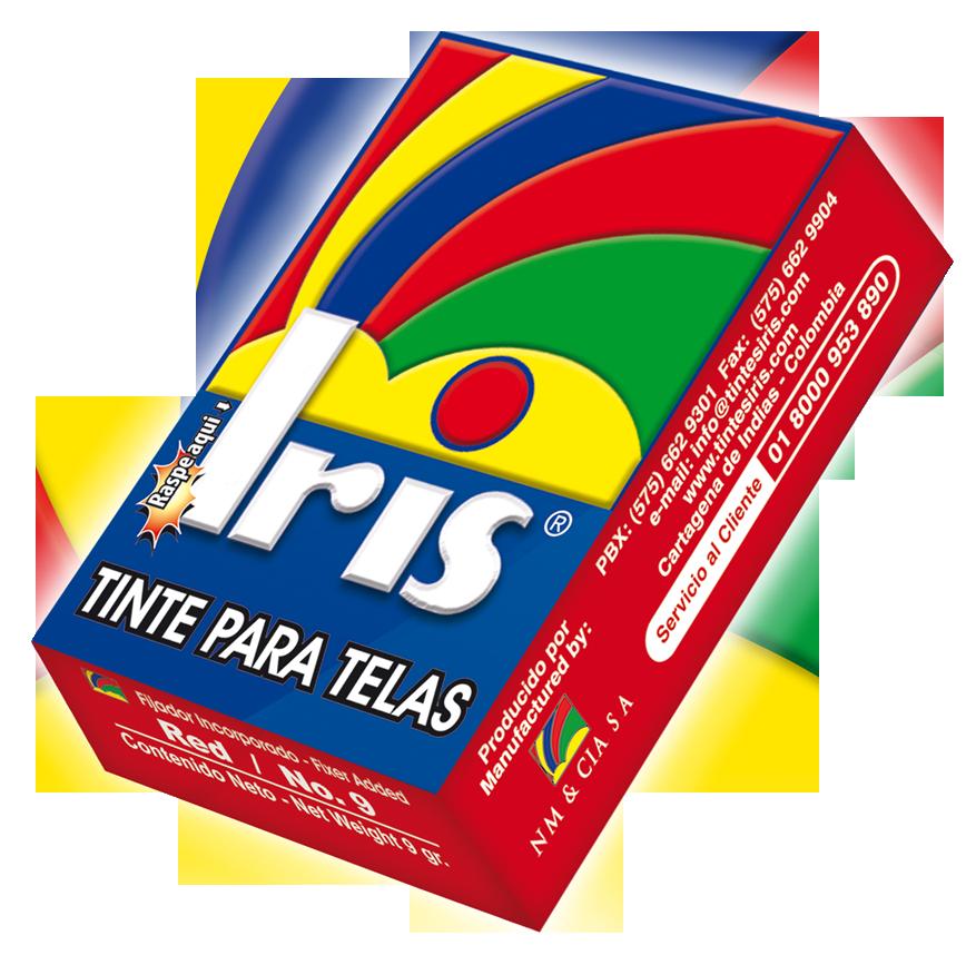 Colorante TINTE IRIS!