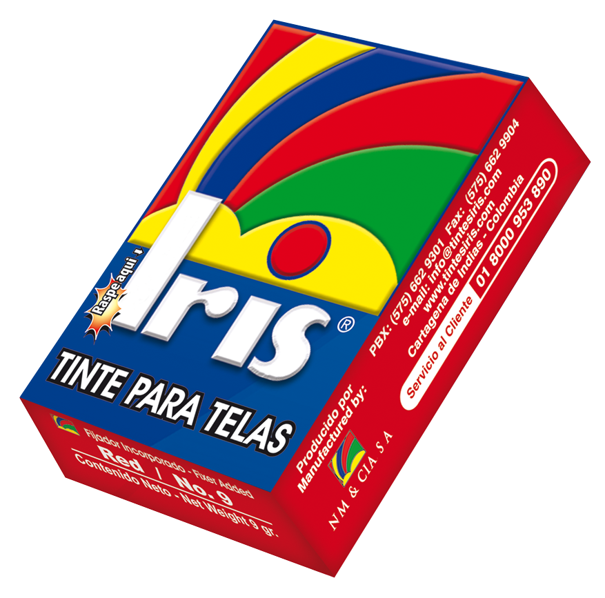 Colorante TINTE IRIS!