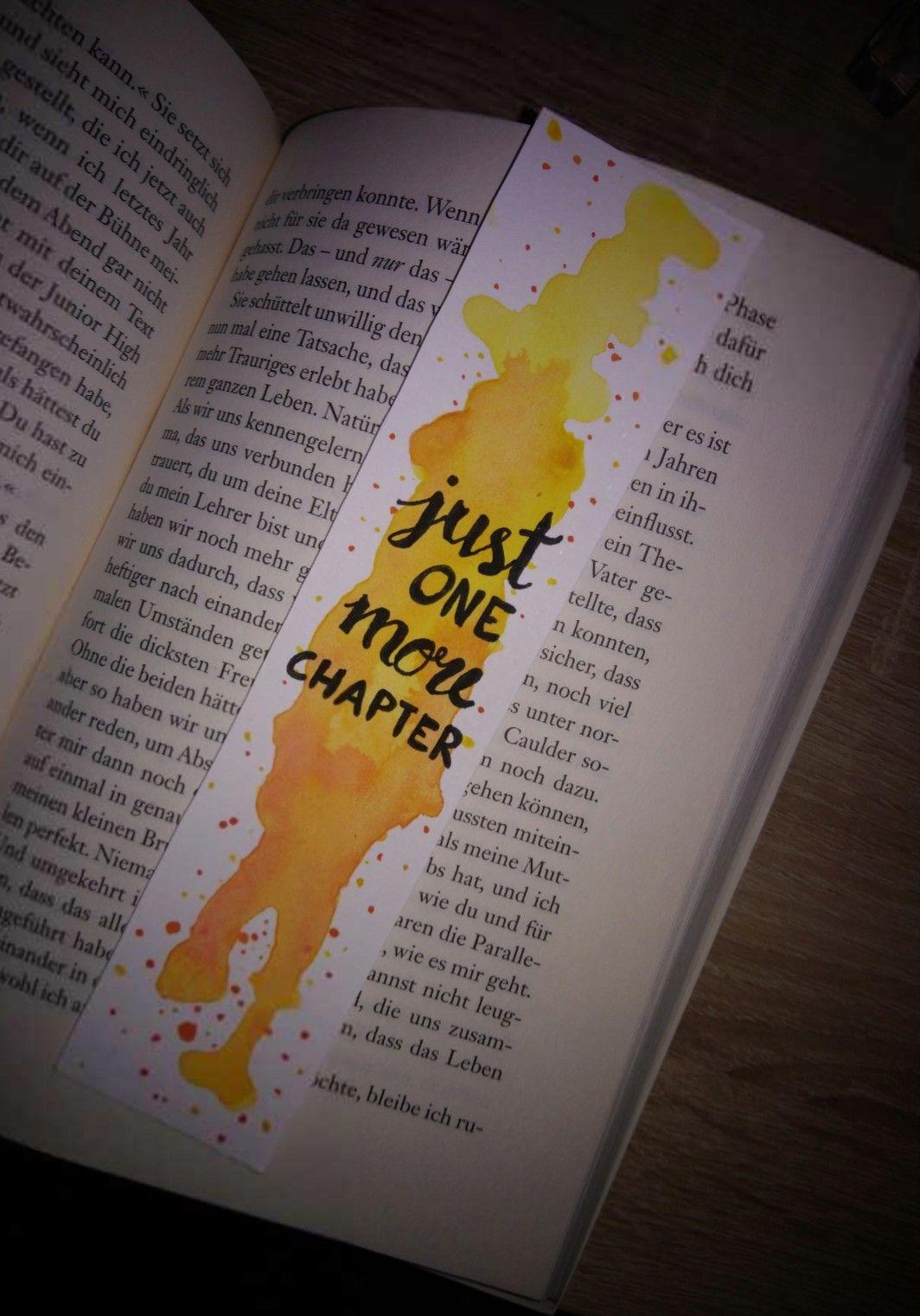 Farbenfroh Und Schlicht Lesezeichen Aquarell Quote Lesen Buch
