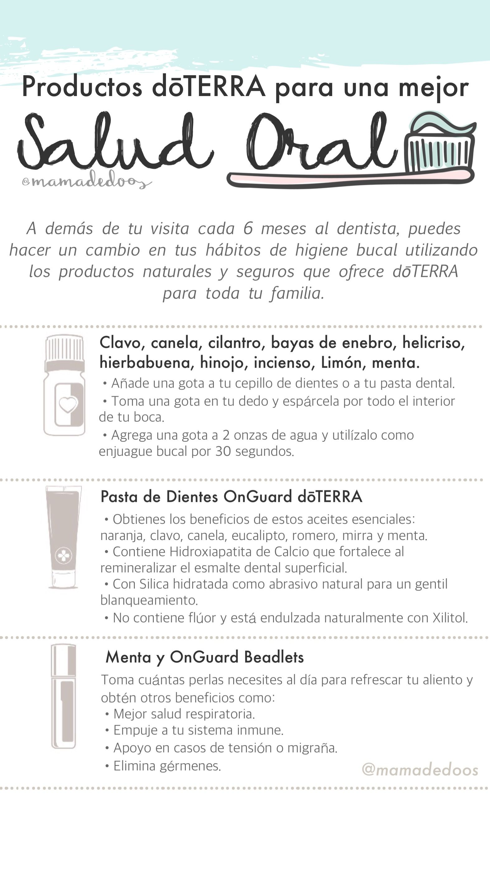 productos de salud bucal