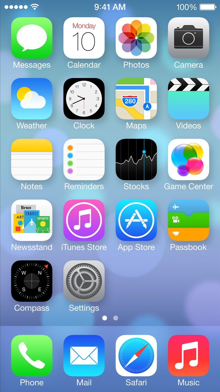 """iOS 7 beta 2 arrives with bug fixes, iPad version The new version promises  only to fix bugs and contains other undocumented """"improvements."""