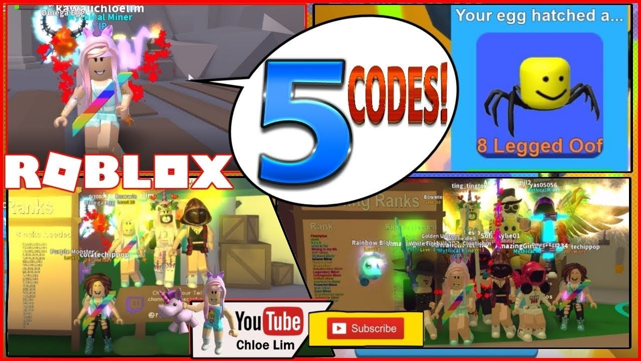 Crystals Roblox Mining Simulator Gameplay 5 Codes And New