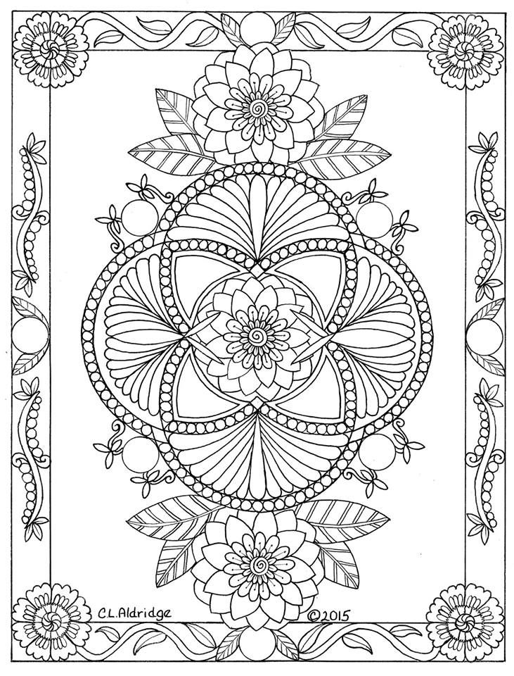 duncun coloring pages | Pin by Nancy Duncan on Adult Coloring Pages | Mandala ...