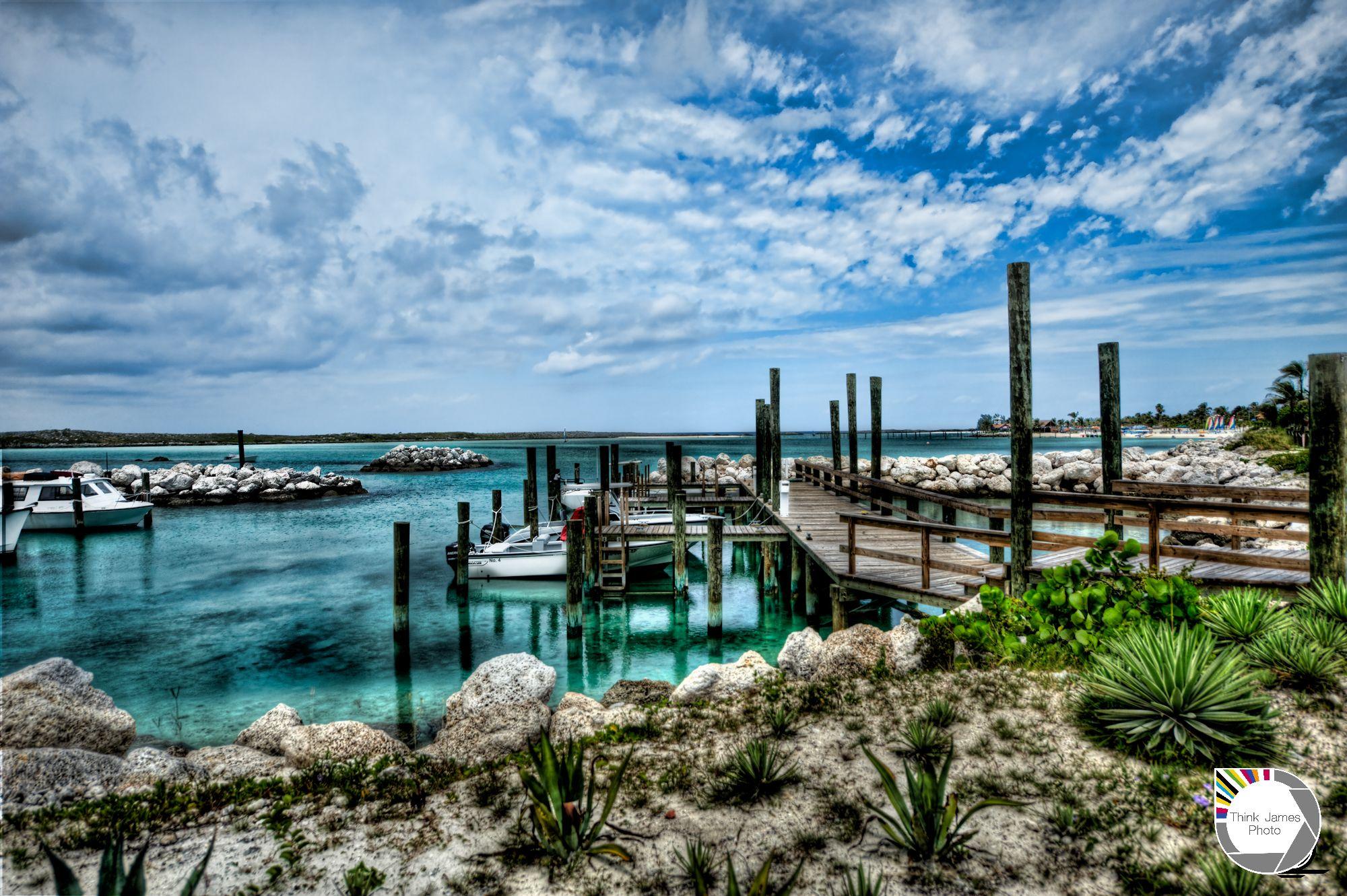 Still waters, Castaway Cay, Bahamas,