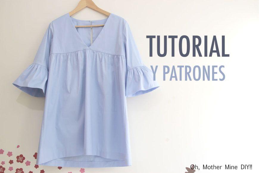 Costura: Vestido para mujer (patrones gratis)   vídeos   Costura ...