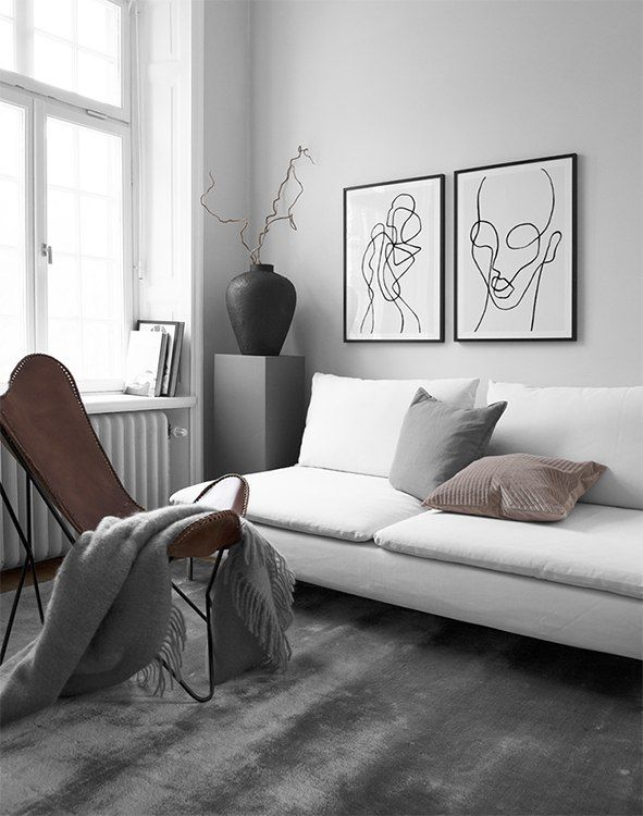 Gallery wall and picture wall inspiration - Desenio Sierra