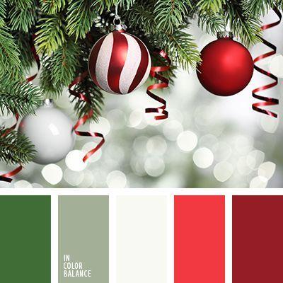 color para la velada navideña, color verde abeto, colores del Año ...