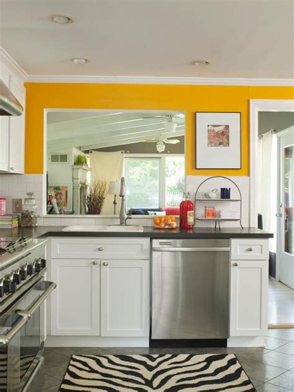 46 Most Popular Kitchen Color Schemes Trends 2019 images
