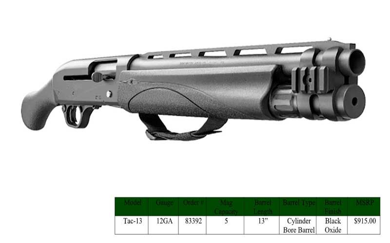 The Remington V3 Tac-13 flawlessly cycles all 2 ¾ to 3-inch
