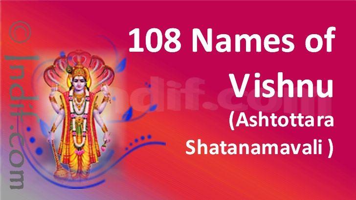 41++ Vishnu names with r information