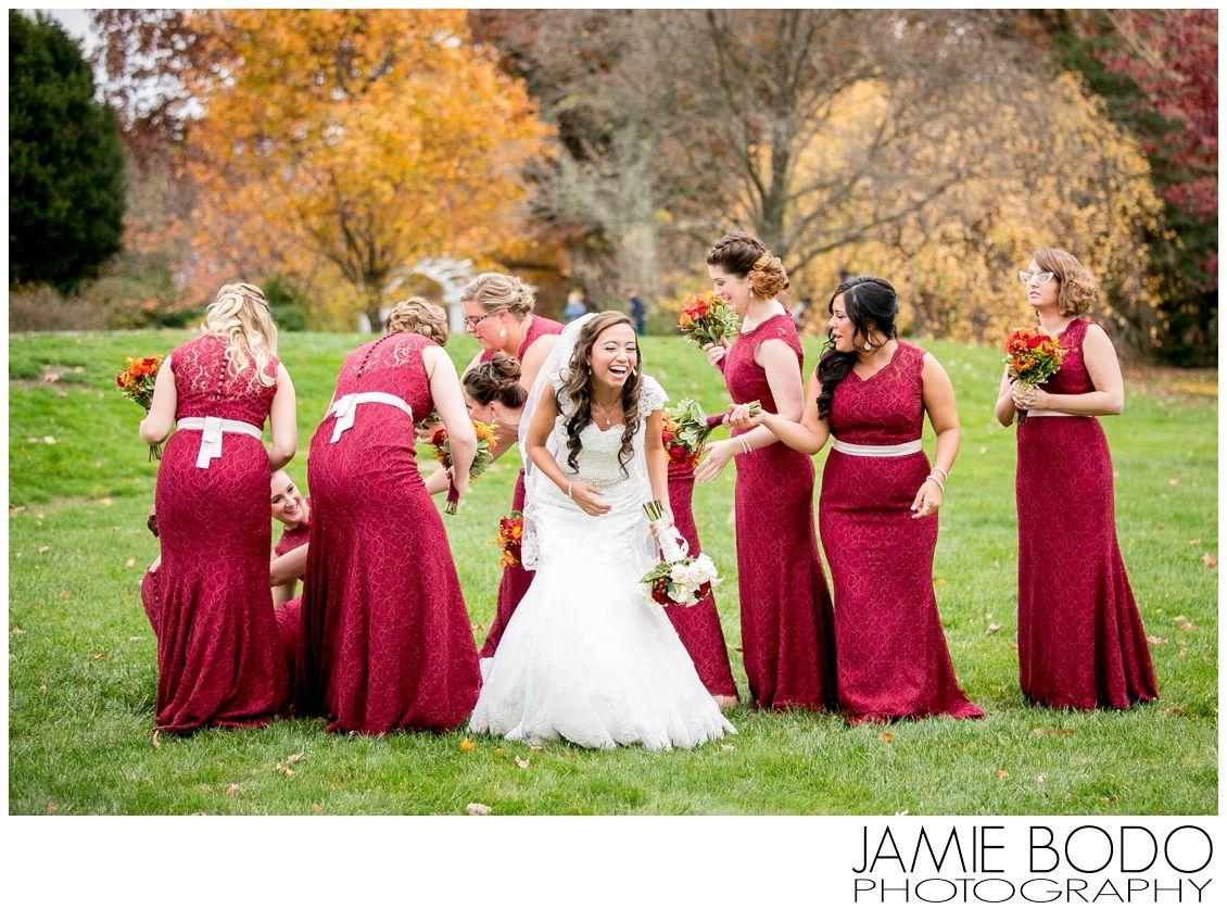 Frelinghuysen Arboretum Wedding New Jersey