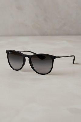 Ray-Ban Erika Sunglasses Black All Eyewear   Style   Pinterest ... fb9de082af