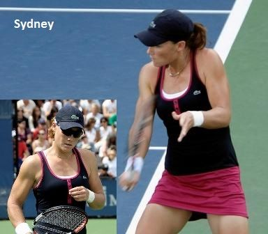 Samantha Stosur and Lacoste