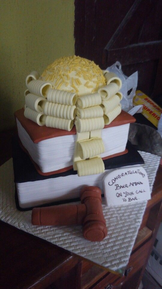 Lawyers wig cake | 3dees confectionery services. in 2018 | Pinterest ...