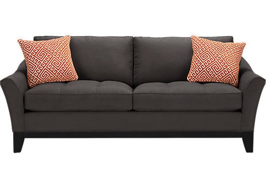 The iSofa on Roomstogo.com lets you design your own custom sofa in three easy steps: choose your style, color, and pillows. Buy it online or see it in a store near you. #iSofa #roomstogo