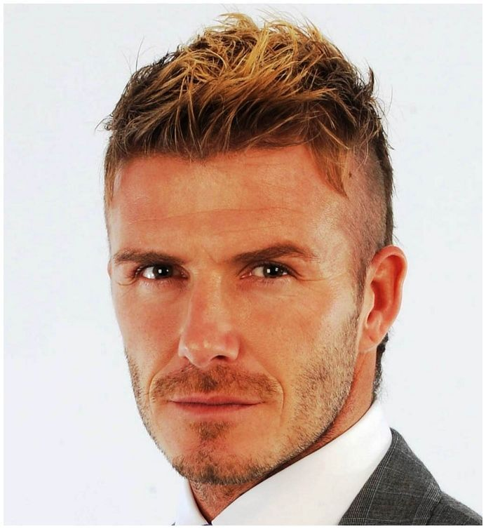 David Beckham 2014 Haircut