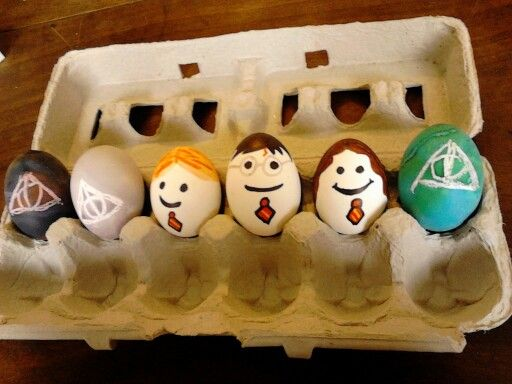 My Harry Potter Easter Eggs Harry Potter Easter Eggs Easter Egg Competition Ideas Easter Egg Hunt Clues