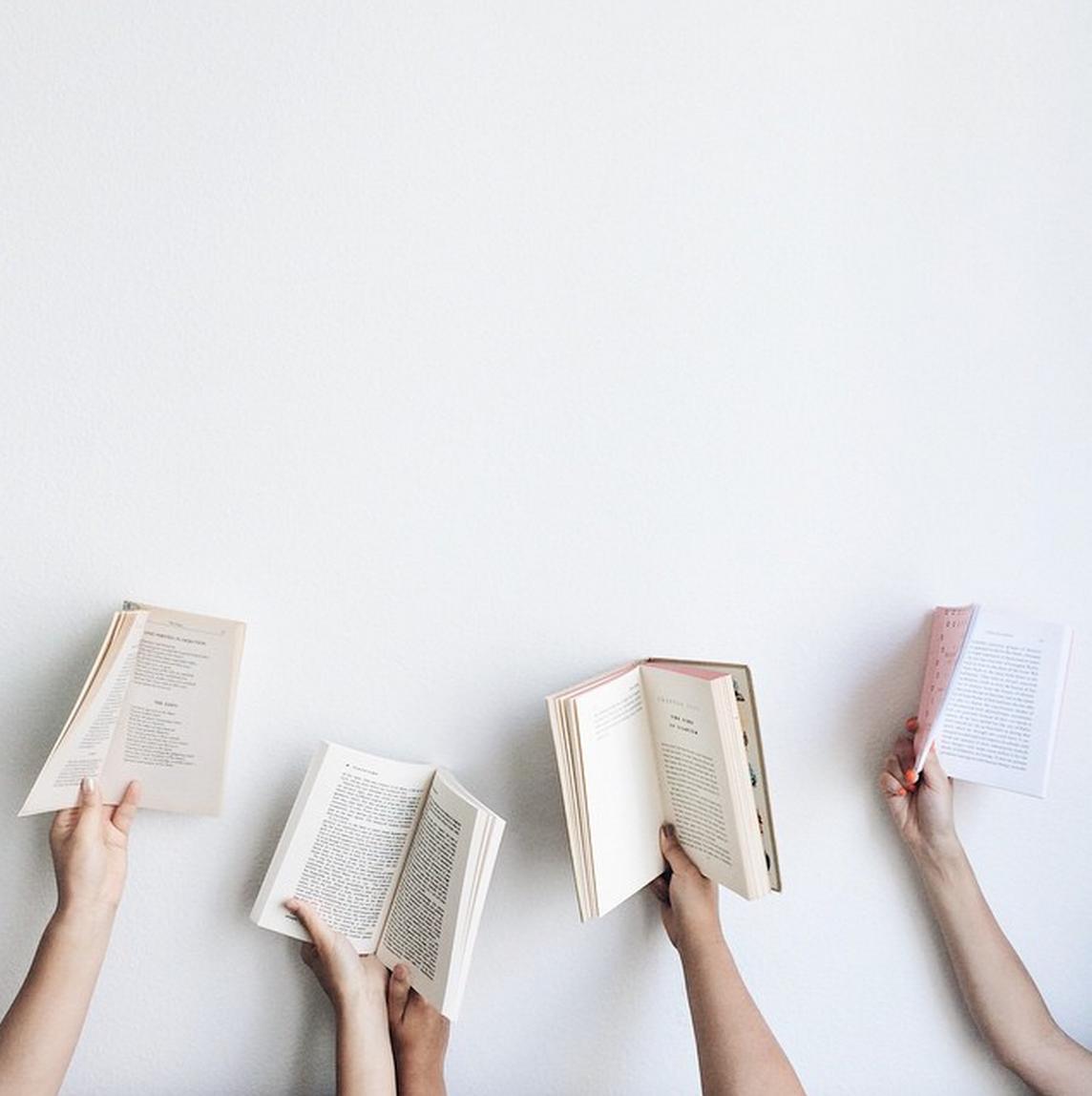 Books! via Irene Kim