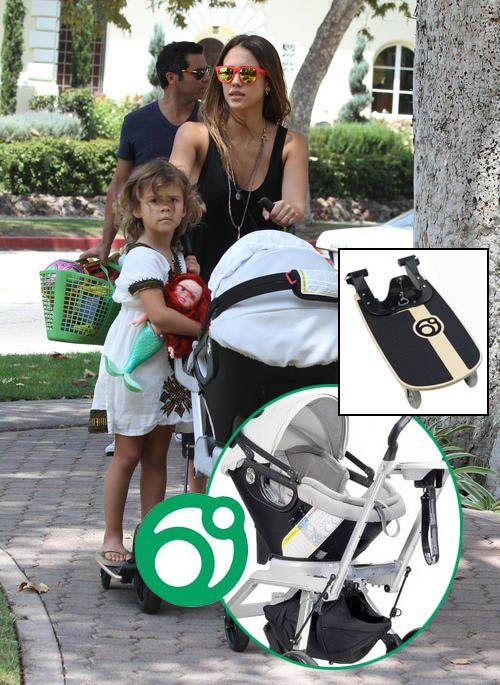 Get the Look: Orbit Baby Stroller with a Sidekick Stroller Board ...