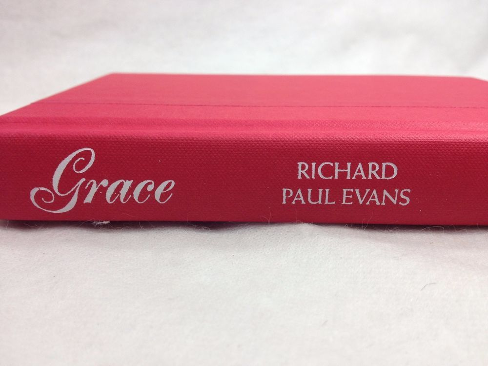 Grace a Novel by Richard Paul Evans 2008 Hardcover Book Inspirational Christmas