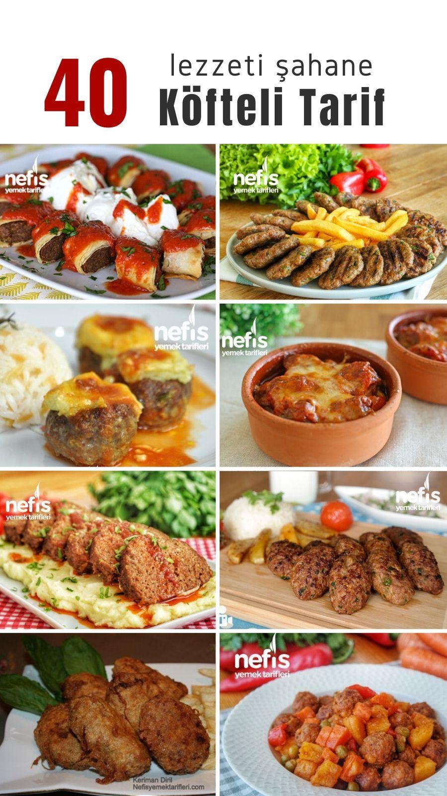 Photo of Köfteli Yemekler: Resimli, En Güzel 40 Tarif – Nefis Yemek T…